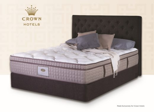 Made exclusively for Crown Hotels